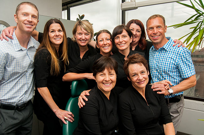 Our amazing team at Van Dental!